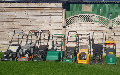 Lawnmowers Marching into Spring